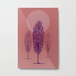 Alberi toscani Metal Print