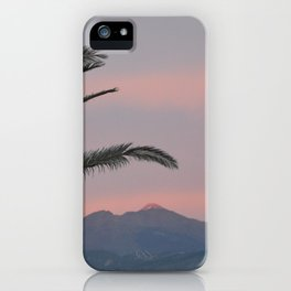 Tramonti vulcanici. iPhone Case