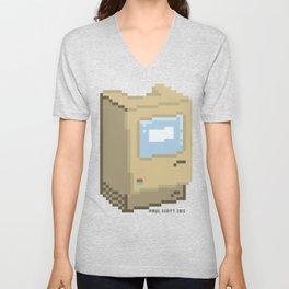Apple Macintosh 128K Unisex V-Neck