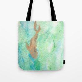 Koi Fish in the Stream Tote Bag