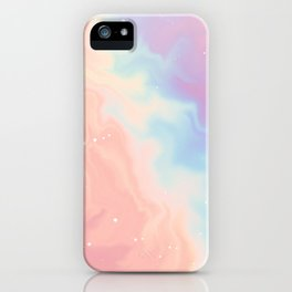 Cotton Candy Galaxy iPhone Case