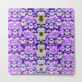 flowers from sky bringing love and life Metal Print