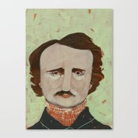 poe Canvas Prints featuring Poe. by Arrolynn