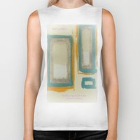 rothko Biker Tanks featuring Soft And Bold Rothko Inspired by Corbin Henry