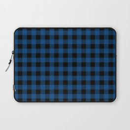 Plaid (blue/black) Laptop Sleeve