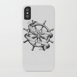Hold Fast iPhone Case