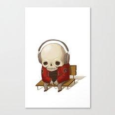 Music Skull Canvas Print