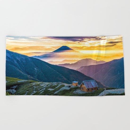 Mt Fuji I Beach Towel