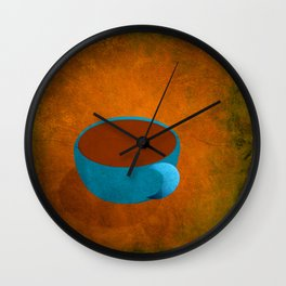 Blonde Roast Coffee Wall Clock