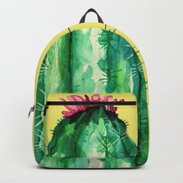 cactu and yellow Backpack