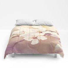 Pastel Apple Bloom Comforters