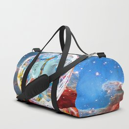 Star Robot Duffle Bag