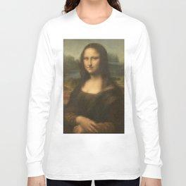 Beauty of Mona Lisa Long Sleeve T-shirt