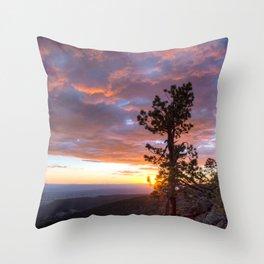 Grand Canyon, Parashant International Night Sky Province Throw Pillow