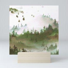 Misty Mountains Mini Art Print