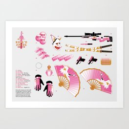 Hell's Angel Weapons Art Print