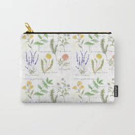 Medicinal Herbs Carry-All Pouch
