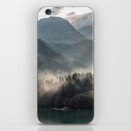 Misty Mountains iPhone Skin