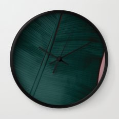 Banana Leaf Edition Wall Clock