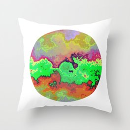 Vivid Planet 00 Throw Pillow
