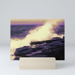 Waving Abstract Mini Art Print