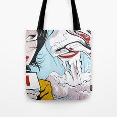 Leaving Earth Tote Bag