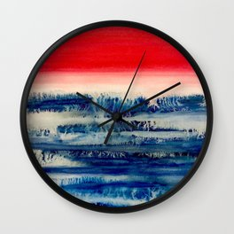 100 Days of Color: Day 94 Wall Clock