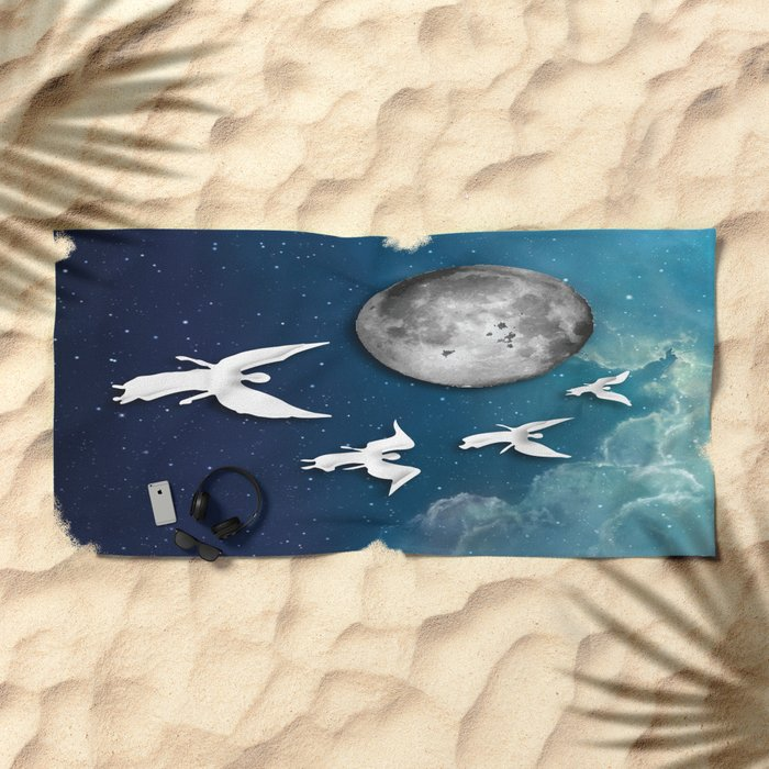 See You On The Other Side Beach Towel