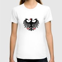 german T-shirts featuring German Eagle by Richard Fay