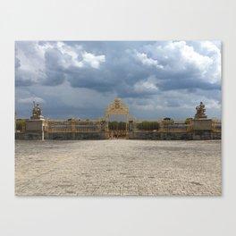 Gates of Versailles Canvas Print