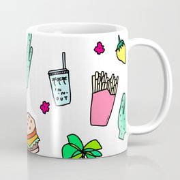 Dear My Lovely California - southwest palm springs beach sun city los angeles retro pop art Coffee Mug
