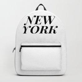 New York Backpack