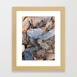 Heart of Stone Framed Art Print