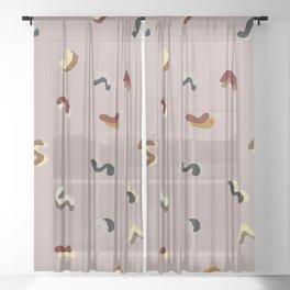 Memphis Shapes Sheer Curtain