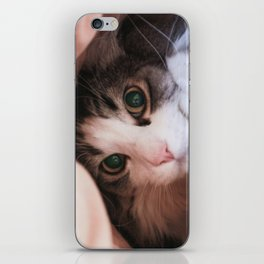are you looking for me? iPhone Skin
