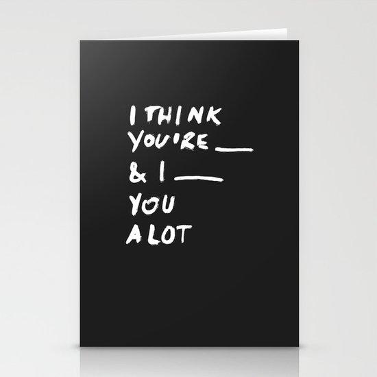 ____ Stationery Cards
