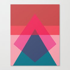 Cacho Shapes LXV Canvas Print