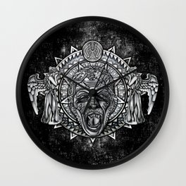 Aztec Angel don't blink Tardis doctor who iPhone 4 4s 5 5c 6, pillow case, mugs and tshirt Wall Clock
