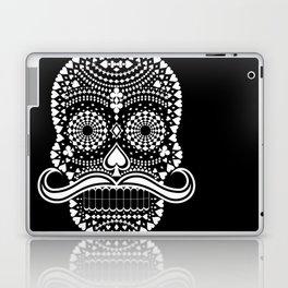 Black Skull  White Suits Laptop & iPad Skin