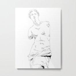 Venus de Milo / Aphrodite Metal Print