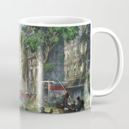 Magnificent Jurassic T Rex Dinosaur Post Apocalyptic Dystopia Survival Ultra HD Coffee Mug