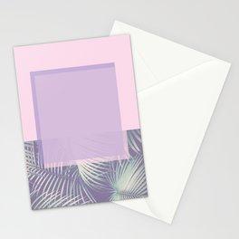 PASTEL & LEAF Stationery Cards