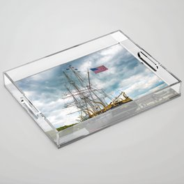 The Last Ship Acrylic Tray