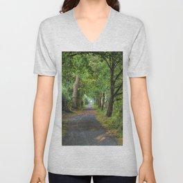 Wooded Trail Unisex V-Neck