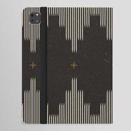 Southwestern Minimalist Black & White iPad Folio Case