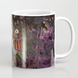 Rucus Studio Pumpkin Man and Fireflies Coffee Mug