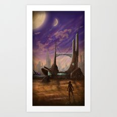 Lost Outpost Art Print