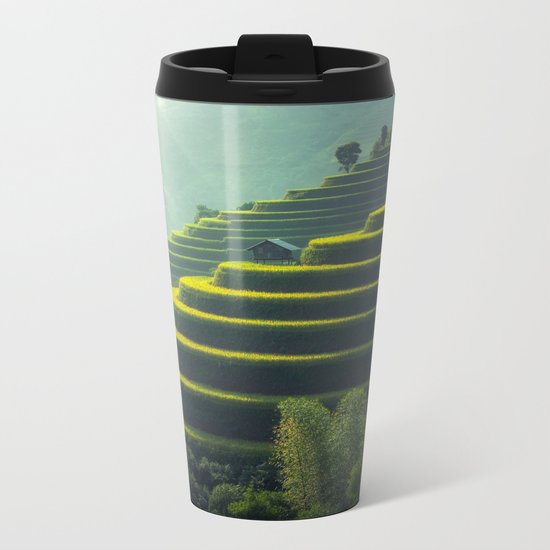 Asia Metal Travel Mug