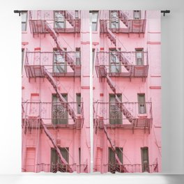 Pink Soho NYC Blackout Curtain
