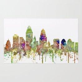Cincinnati, Ohio Skyline SG - Faded Glory Rug